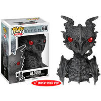 Funko Pop! Games - Funko Pop! The Elder Scrolls V, Skyrim: Alduin Over-Sized Vinyl Figure