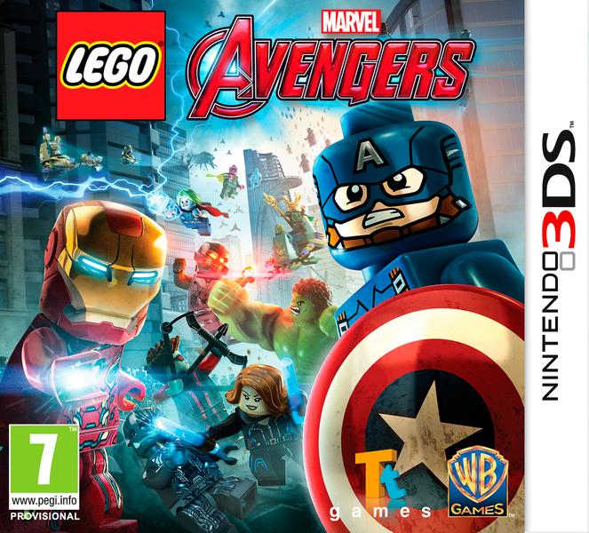 Resultado de imagen para LEGO Marvel Avengers 3DS COVER
