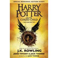 Harry Potter and the Cursed Child - J.K. Rowling, Jack Thorne and John Tiffany (Hardcover)