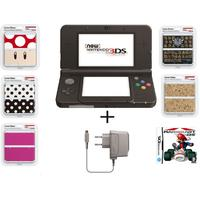 Nintendo new 3DS Handheld Console - Black (Bundle Offer)
