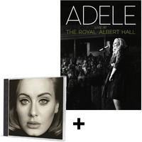 Adele - 25 + Live At the Royal Albert Hall (CD + DVD)