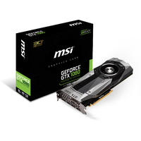 MSI nVidia GeForce GTX 1080 8GB GDDR5X 256 Bit Graphics Card (Founders Edition)