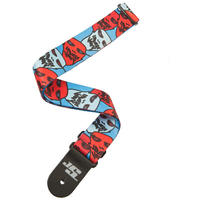 Planet Waves 50JS11 2 Inch Joe Satriani Ghost Guitar Strap (Multi-Colour)