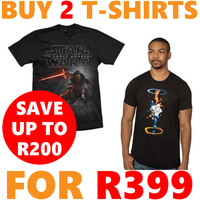 Buy 2 T-Shirts For R399