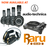 Now Available from Raru: Audio-Technica Headphones, Turntables and Accessories