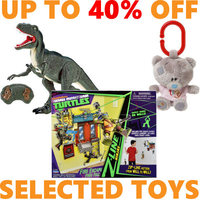 Up To 40% Off Selected Toys