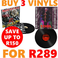 Buy 3 Vinyls For R289