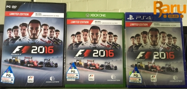 news f1 2016 limited edition ps4 xbox one pc now shipping for friday 39 s street date raru. Black Bedroom Furniture Sets. Home Design Ideas