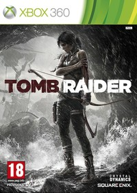 Tomb Raider (Xbox 360) - Cover