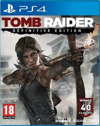 Tomb Raider - Definitive Edition (PS4) - Cover