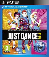 Just Dance 2014 (PS3) - Cover