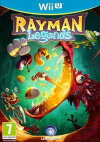 Rayman Legends (Wii U) - Cover