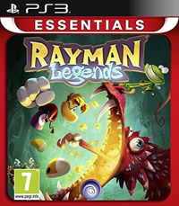Rayman Legends (PS3) - Cover
