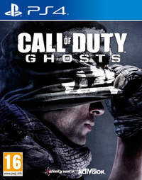 Call of Duty: Ghosts (PS4) - Cover