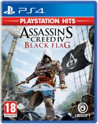 Assassin's Creed IV: Black Flag (PS4) - Cover