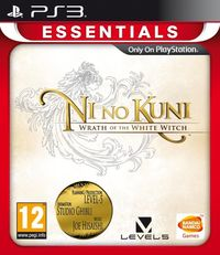 Ni No Kuni: Wrath Of The White Witch (PS3) - Cover