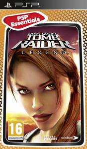 Tomb Raider: Legend (PSP) - Cover