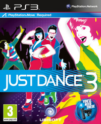 Just Dance 3 (PS3) - Cover