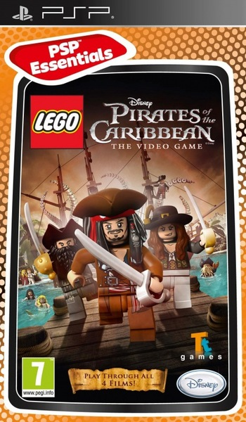 Lego Pirates Of The Caribbean The Video Game Psp Video Games