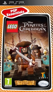 LEGO Pirates of the Caribbean: The Video Game (PSP) - Cover