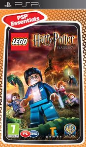 LEGO Harry Potter: Years 5-7 (PSP) - Cover