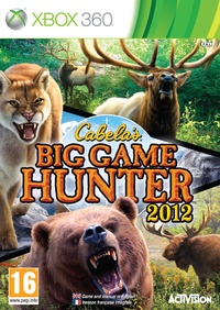 Cabela's Big Game Hunter 2012 (Xbox 360) - Cover