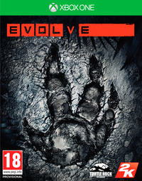 Evolve (Xbox One) - Cover