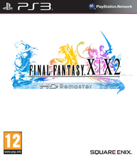 Final Fantasy X/X-2 HD Remaster (PS3) - Cover