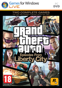 Grand Theft Auto: Episodes from Liberty City (PC) - Cover