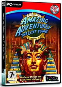 Amazing Adventures: The Lost Tomb (PC) - Cover