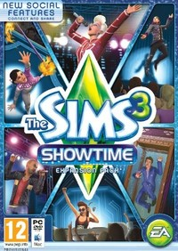 The Sims 3: Showtime (PC) - Cover