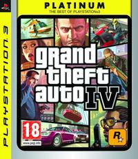 Grand Theft Auto IV (PS3) - Cover