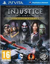 Injustice: Gods Among Us (PS VITA) - Cover