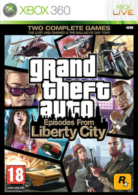 Grand Theft Auto: Episodes from Liberty City (Xbox 360) - Cover