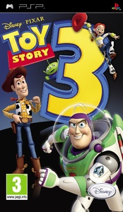 Toy Story 3 (PSP) - Cover