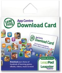 LeapFrog - App Centre Download Code (Leapster Explorer) - Cover
