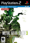 Metal Gear Solid 3 Snake Eater (PS2) Cover
