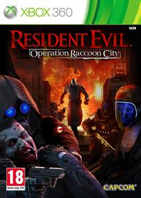 Resident Evil: Operation Raccoon City (Xbox 360) - Cover
