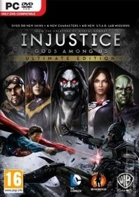 Injustice: Gods Among Us (PC) - Cover