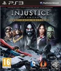 Injustice: Gods Among Us (PS3) - Cover