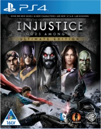 Injustice: Gods Among Us (PS4) - Cover