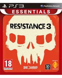 Resistance 3 (PS3) - Cover