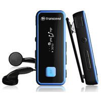 Transcend T.Sonic 350 - 8GB MP3 Player + Fitness tracker + Voice recorder - Blue