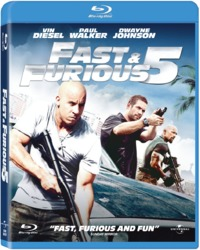 Fast & Furious 5 (Blu-ray) - Cover