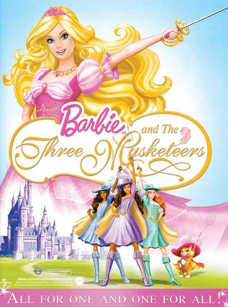 barbie and the three musketeers full movie in english youtube