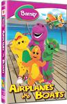 Barney: Airplanes & Boats (DVD)