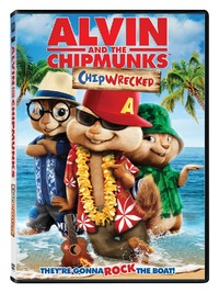 Alvin & the Chipmunks 3: Chipwrecked (DVD) - Cover