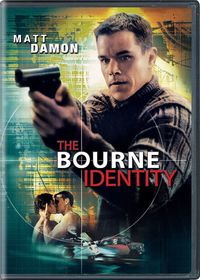 The Bourne Identity (DVD) - Cover