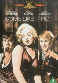 Some Like It Hot (DVD) - Cover
