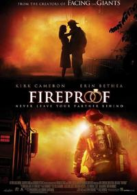 Fireproof (DVD) - Cover